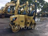 Equipment photo CATERPILLAR CB24 VIBRATORY DOUBLE DRUM ASPHALT 1