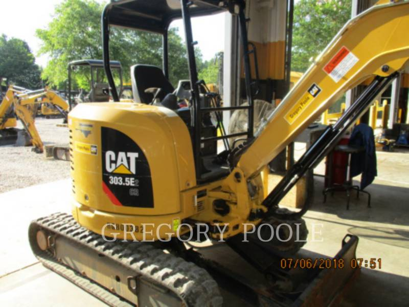 CATERPILLAR TRACK EXCAVATORS 303.5E2 CR equipment  photo 9