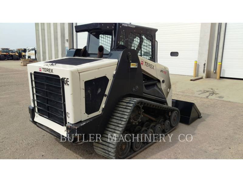 TEREX CORPORATION SKID STEER LOADERS PT110 equipment  photo 4