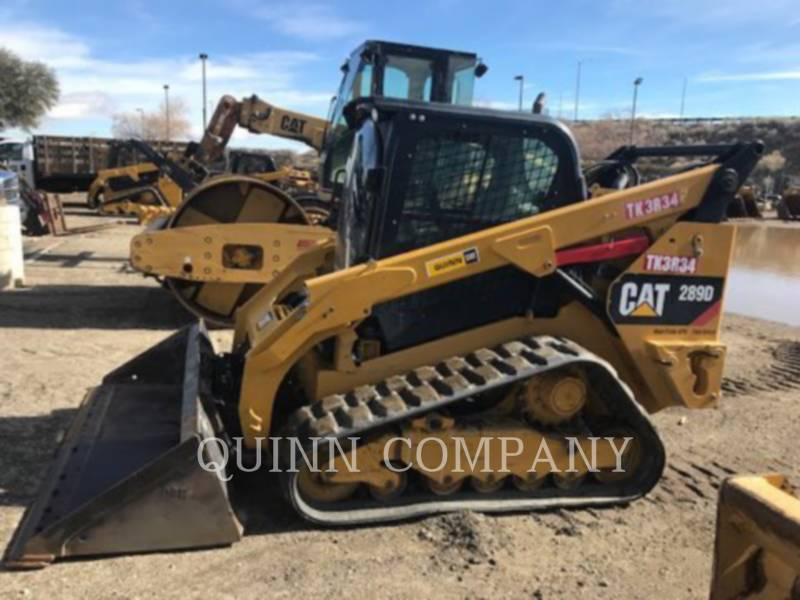 CATERPILLAR KOMPAKTLADER 289D CAB equipment  photo 2