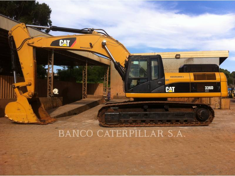CATERPILLAR KETTEN-HYDRAULIKBAGGER 336DL equipment  photo 5