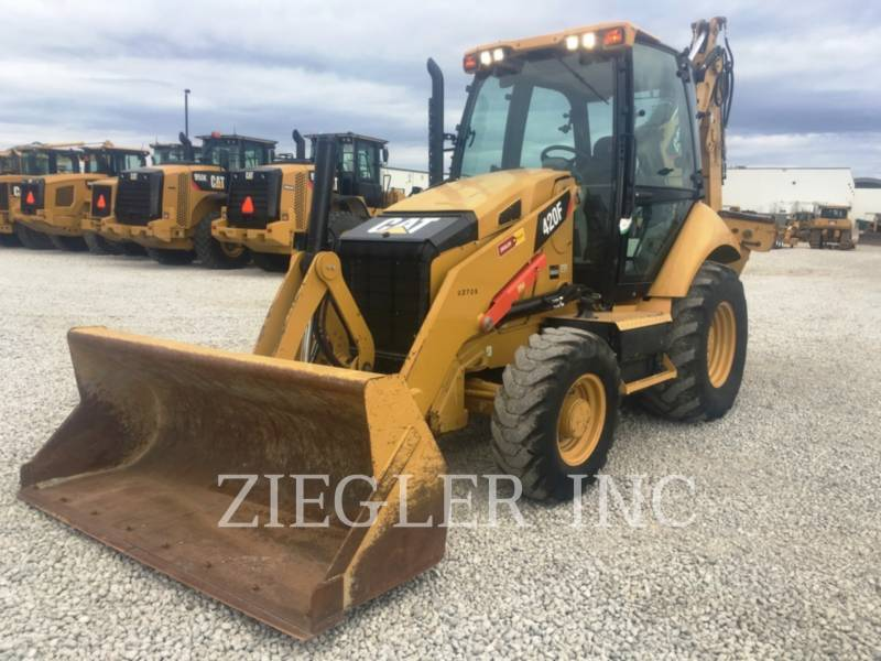CATERPILLAR CHARGEUSES-PELLETEUSES 420FH2 equipment  photo 1