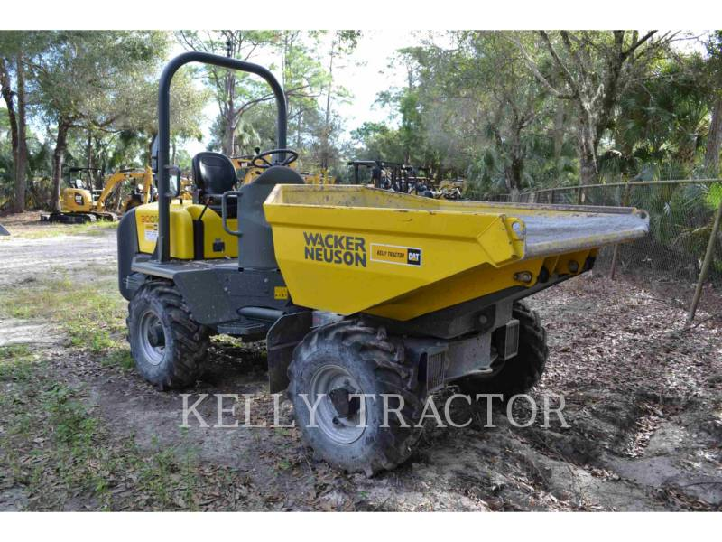 WACKER CORPORATION UTILITY VEHICLES / CARTS DUMPER3001 equipment  photo 2