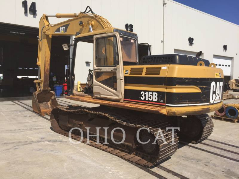 CATERPILLAR EXCAVADORAS DE CADENAS 315BL equipment  photo 2