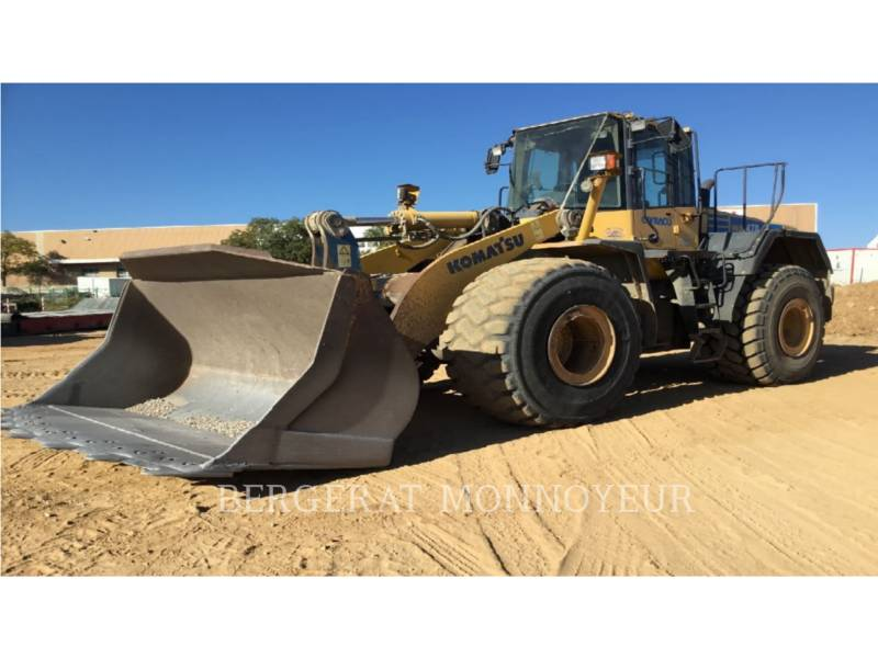 KOMATSU WHEEL LOADERS/INTEGRATED TOOLCARRIERS WA470.6 equipment  photo 1
