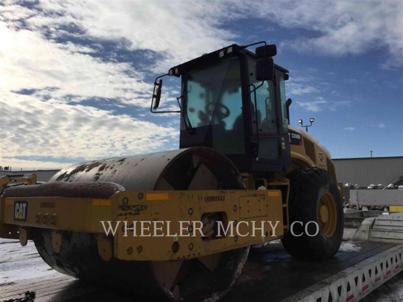 CATERPILLAR VIBRATORY SINGLE DRUM SMOOTH CS56B equipment  photo 4