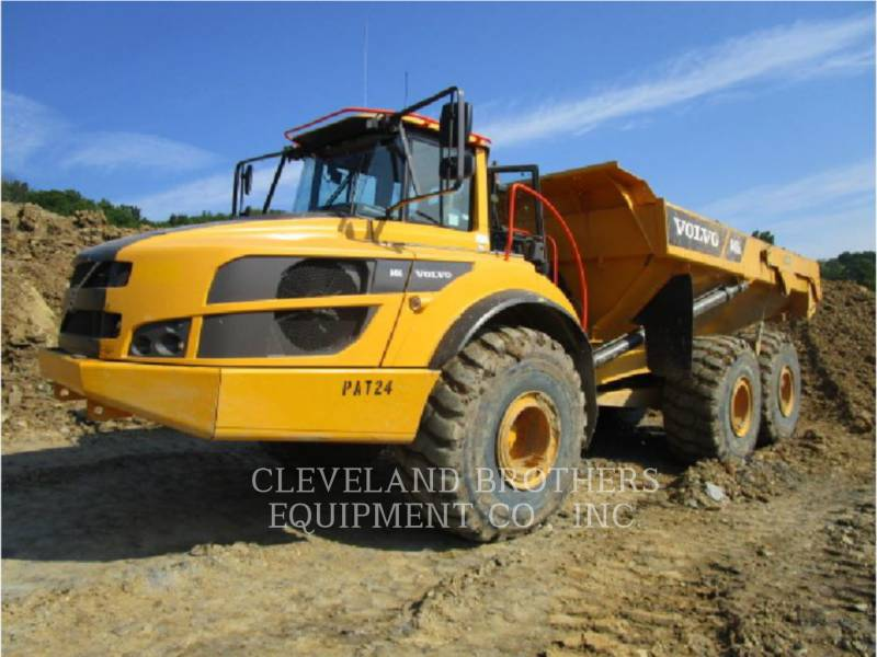 VOLVO CONSTRUCTION EQUIPMENT RÓWNIARKI SAMOBIEŻNE A40G equipment  photo 2