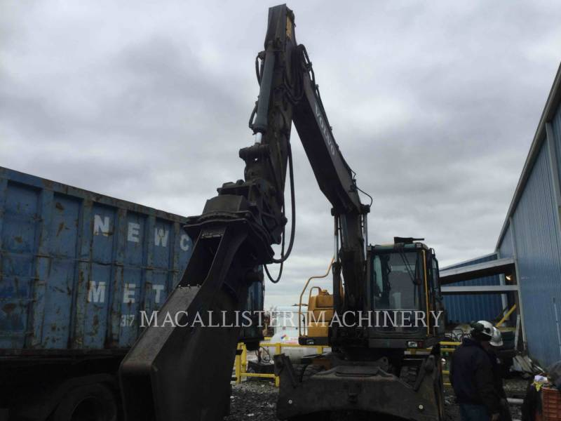 VOLVO CONSTRUCTION EQUIPMENT ホイール油圧ショベル EW180 equipment  photo 4
