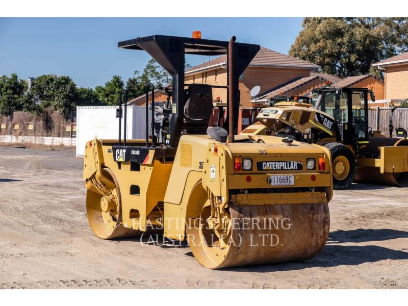 CATERPILLAR ROLO COMPACTADOR DE ASFALTO DUPLO TANDEM CB-434D equipment  photo 6