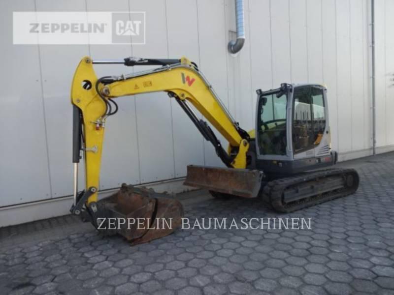WACKER CORPORATION KETTEN-HYDRAULIKBAGGER EZ80 equipment  photo 1