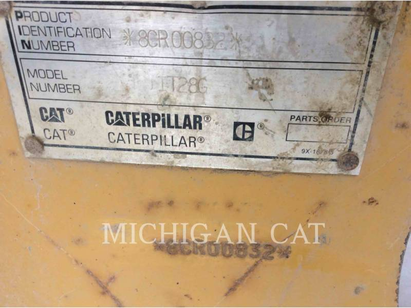 CATERPILLAR WHEEL LOADERS/INTEGRATED TOOLCARRIERS IT28G equipment  photo 6