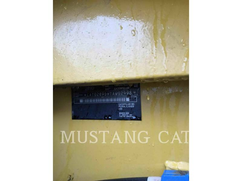 CATERPILLAR CHARGEURS COMPACTS RIGIDES 289D CA equipment  photo 6