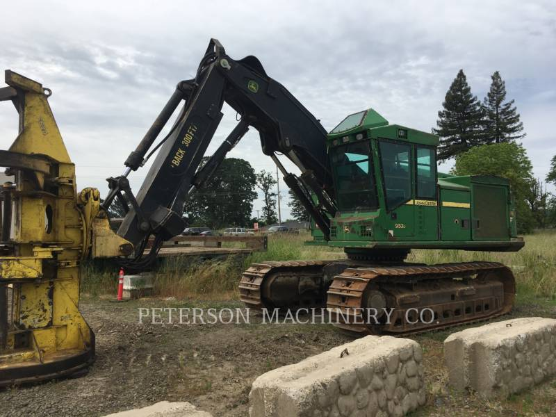 DEERE & CO. FORESTRY - FELLER BUNCHERS 953J equipment  photo 1
