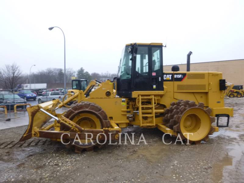 CATERPILLAR WT - УПЛОТНИТЕЛЬ 815F2 equipment  photo 1