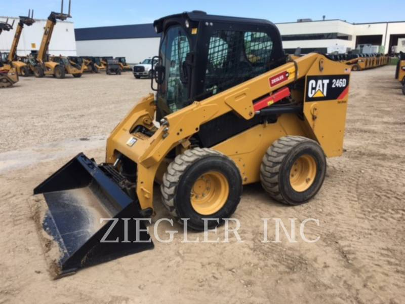 CATERPILLAR SKID STEER LOADERS 246DSR equipment  photo 1