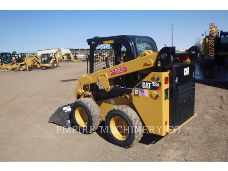 CATERPILLAR SCHRANKLADERS 232D equipment  photo 3