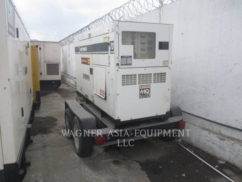 MULTIQUIP STATIONARY GENERATOR SETS DCA-70SSIU equipment  photo 10