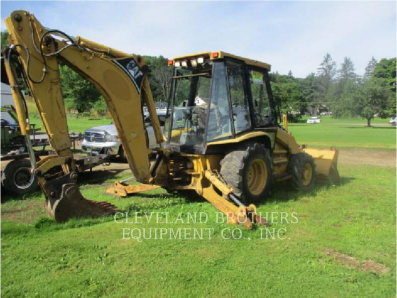 CATERPILLAR BACKHOE LOADERS 416C equipment  photo 4