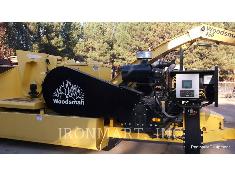 WOODSMAN SALES INC CHIPPER, HORIZONTAL 430 equipment  photo 1