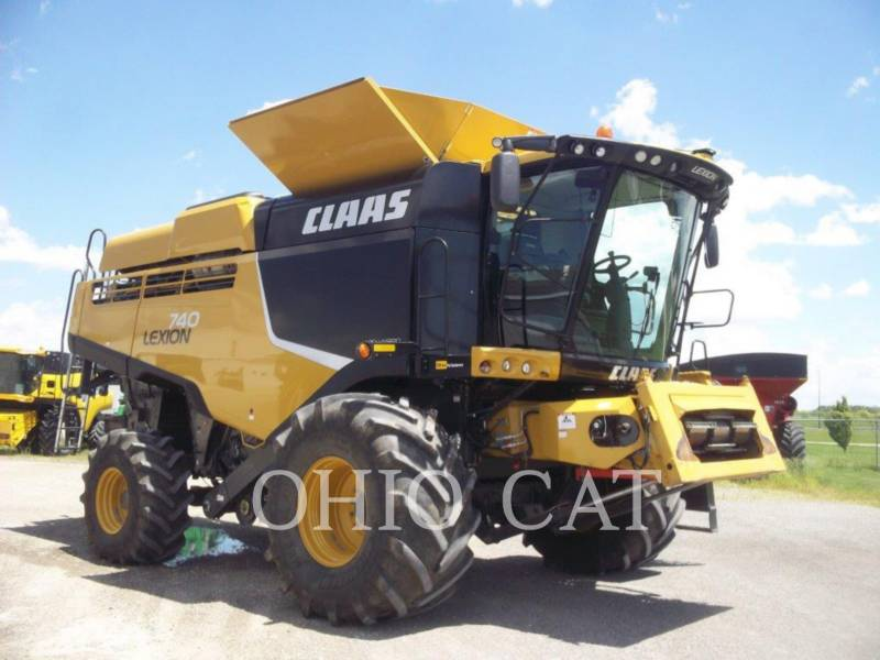 CLAAS OF AMERICA KOMBAJNY LEX740 equipment  photo 5