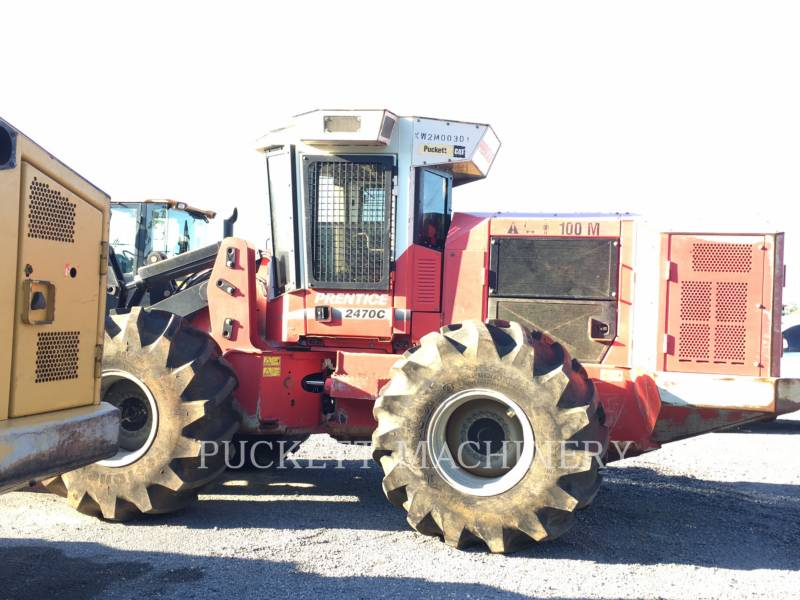 CATERPILLAR FORESTRY - FELLER BUNCHERS - WHEEL 2470C equipment  photo 4