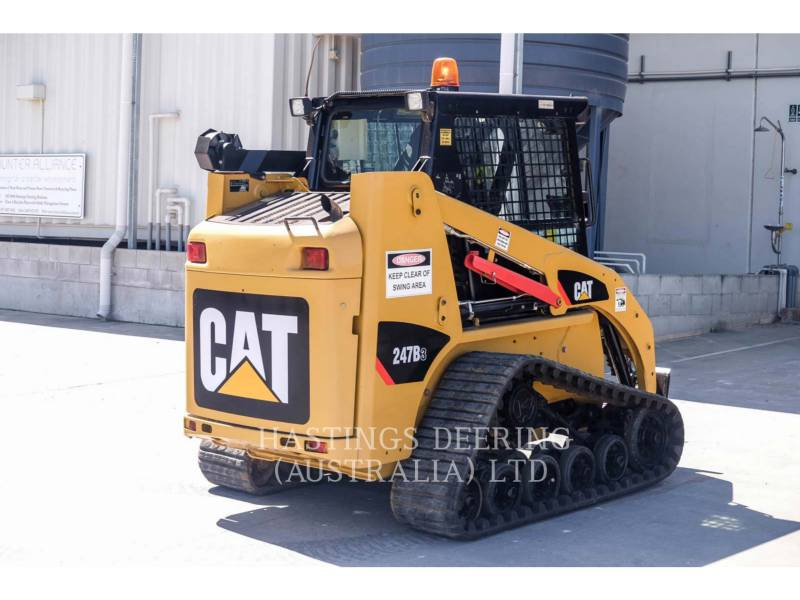 CATERPILLAR CHARGEURS TOUT TERRAIN 247B3LRC equipment  photo 7