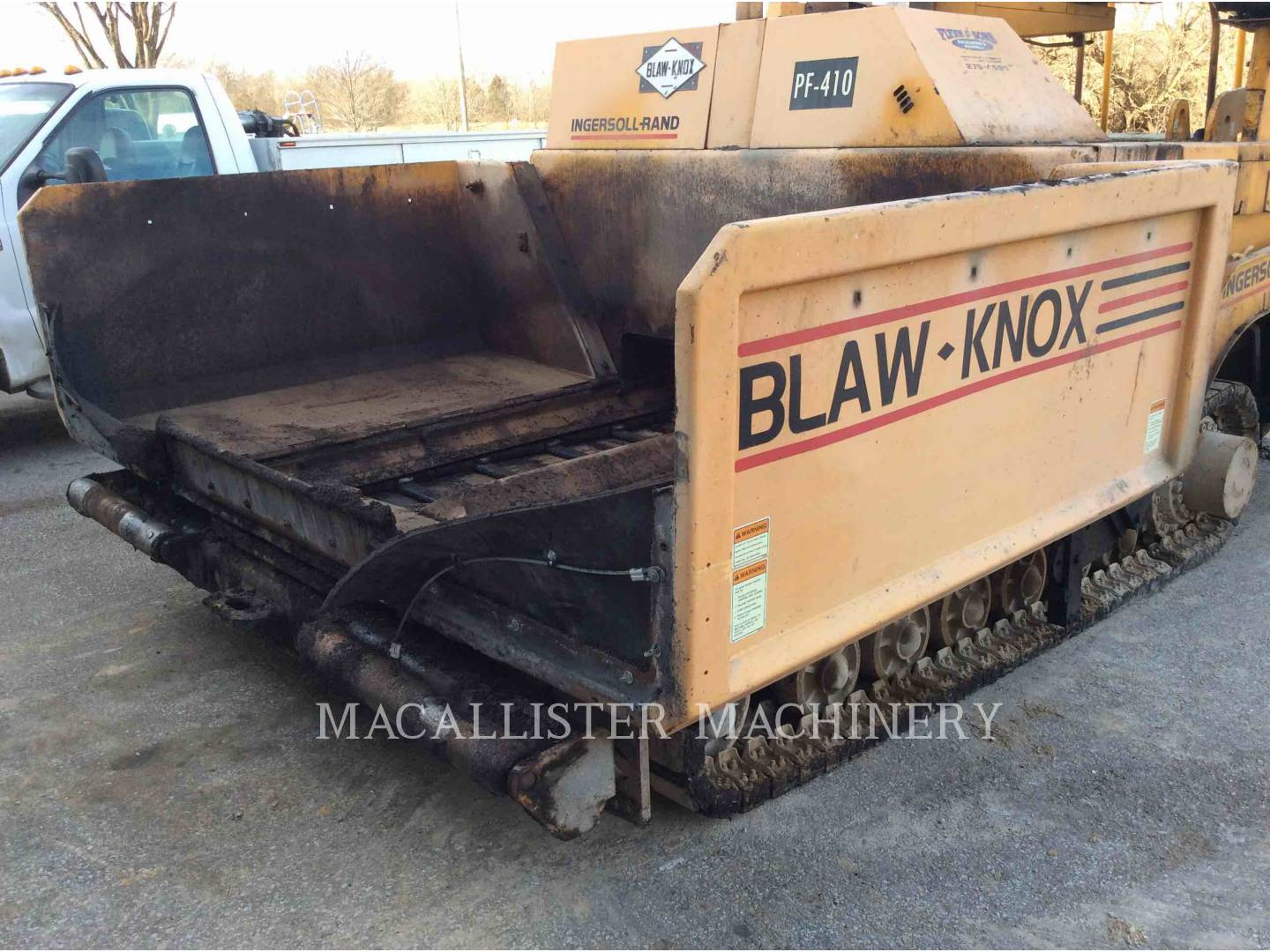 Detail photo of 1998 Blaw Knox PF-410 from Construction Equipment Guide