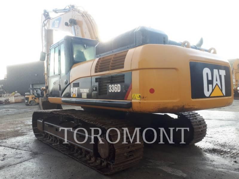 CATERPILLAR トラック油圧ショベル 336DL equipment  photo 2