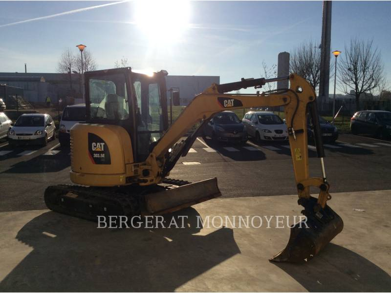 CATERPILLAR TRACK EXCAVATORS 303.5E CR equipment  photo 6