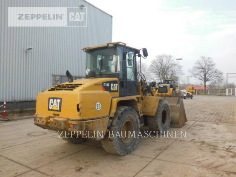 CATERPILLAR CHARGEURS SUR PNEUS/CHARGEURS INDUSTRIELS IT14G equipment  photo 3