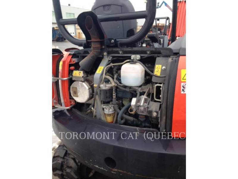 KUBOTA CORPORATION PELLES SUR CHAINES KX040-4 equipment  photo 10