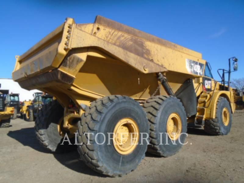 CATERPILLAR CAMIONES ARTICULADOS 740B equipment  photo 4