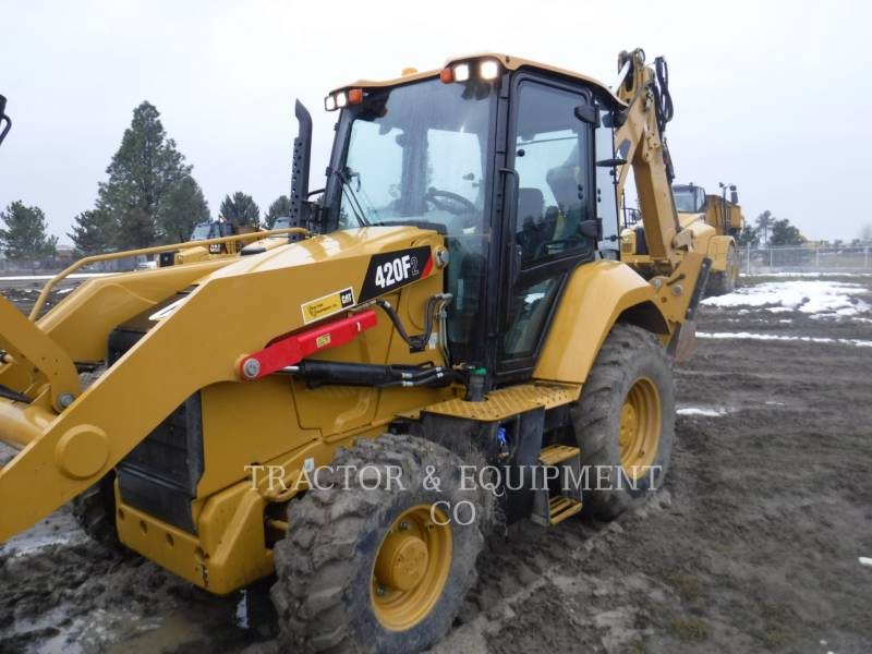 CATERPILLAR RETROEXCAVADORAS CARGADORAS 420F2 4ECB equipment  photo 1