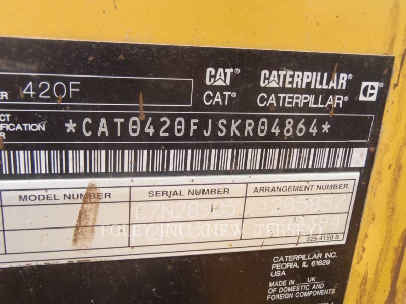 CATERPILLAR BACKHOE LOADERS 420FST equipment  photo 6