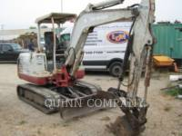 Equipment photo TAKEUCHI MFG. CO. LTD. TB135 KETTEN-HYDRAULIKBAGGER 1