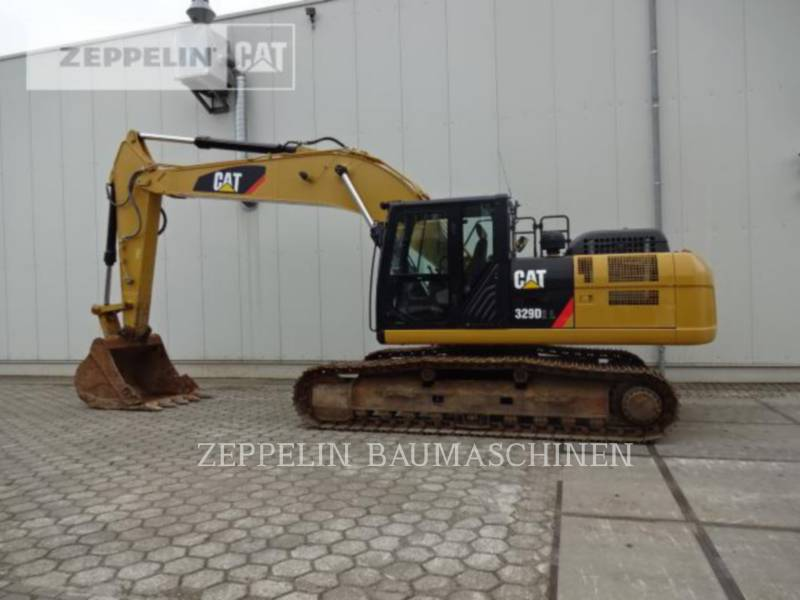 CATERPILLAR TRACK EXCAVATORS 329D2L equipment  photo 4