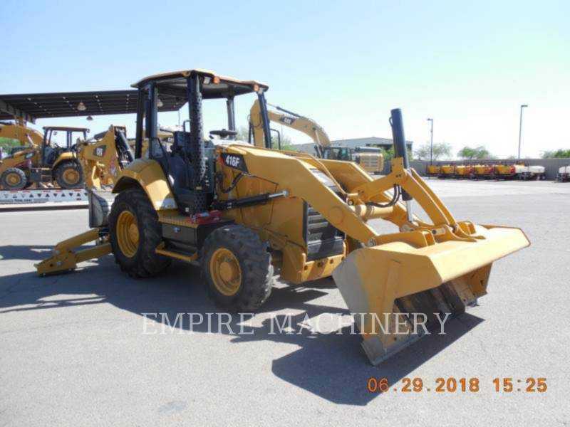 CATERPILLAR CHARGEUSES-PELLETEUSES 416F2ST equipment  photo 1