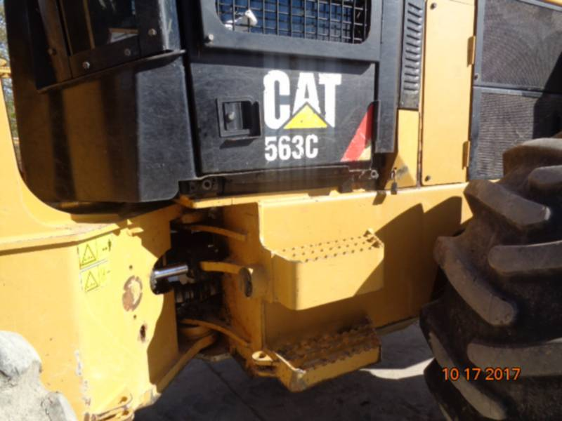 CATERPILLAR FORESTRY - FELLER BUNCHERS - WHEEL 563C equipment  photo 24
