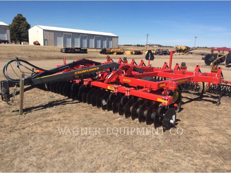 SUNFLOWER MFG. COMPANY AG TILLAGE EQUIPMENT SF4213-15 equipment  photo 1