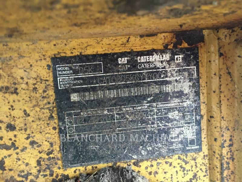 CATERPILLAR TRACTORES DE CADENAS D5K LGP equipment  photo 13