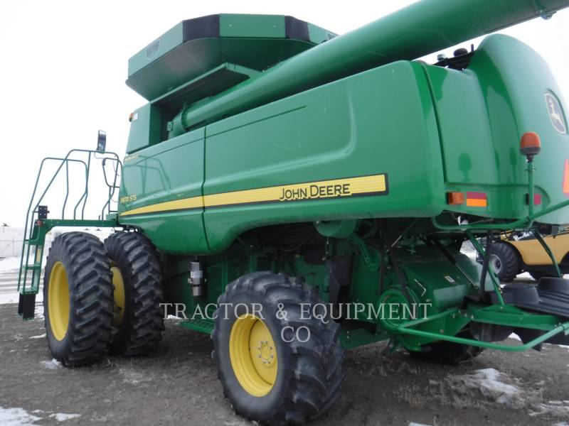 JOHN DEERE COMBINES 9870 equipment  photo 5