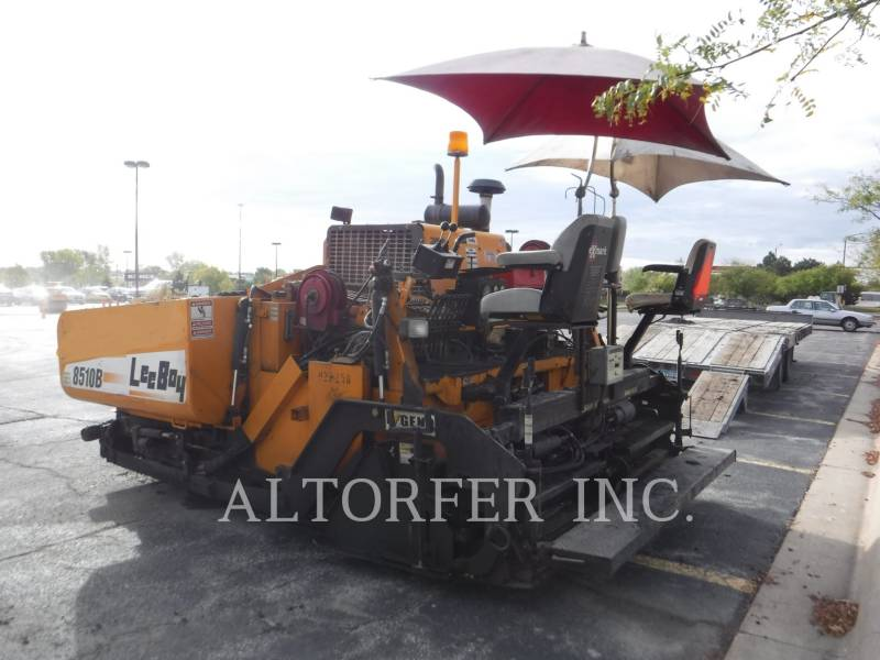 LEE-BOY ASPHALTPRODUKTION 8510B equipment  photo 4