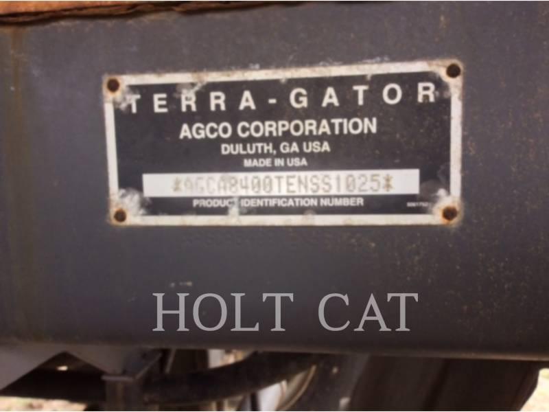 AG-CHEM SPRÜHVORRICHTUNGEN TG8400 equipment  photo 3
