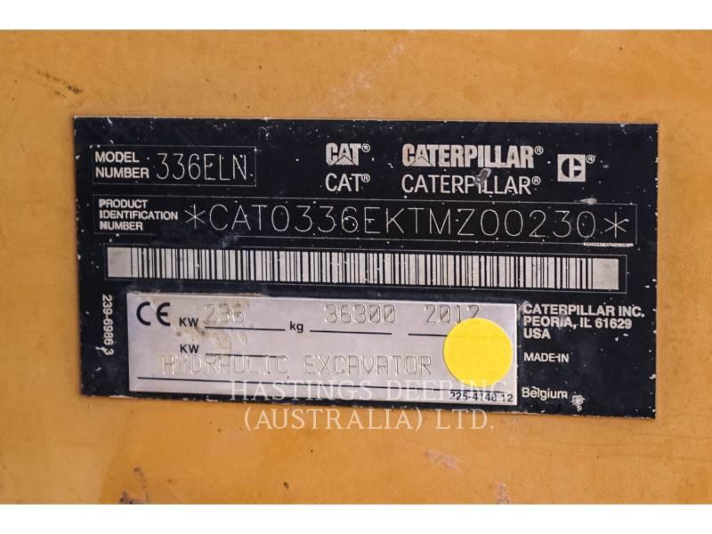 CATERPILLAR KETTEN-HYDRAULIKBAGGER 336ELN equipment  photo 18