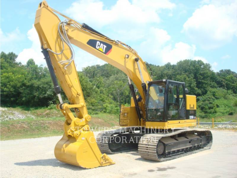 CATERPILLAR TRACK EXCAVATORS 328DL HAM equipment  photo 1