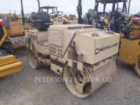 Equipment photo INGERSOLL-RAND DD-22 ASPHALT PAVERS 1