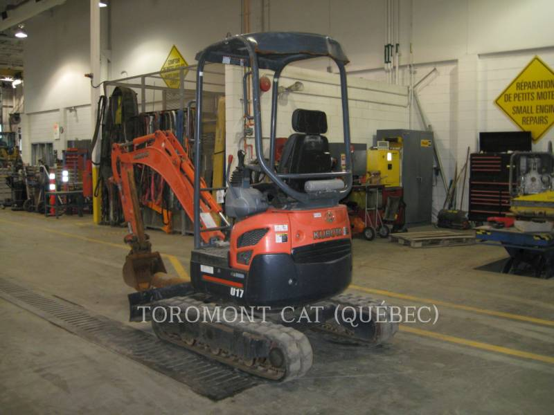 KUBOTA CORPORATION EXCAVADORAS DE CADENAS U17 equipment  photo 4