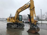 Equipment photo KOMATSU PC170LC-10 KETTEN-HYDRAULIKBAGGER 1