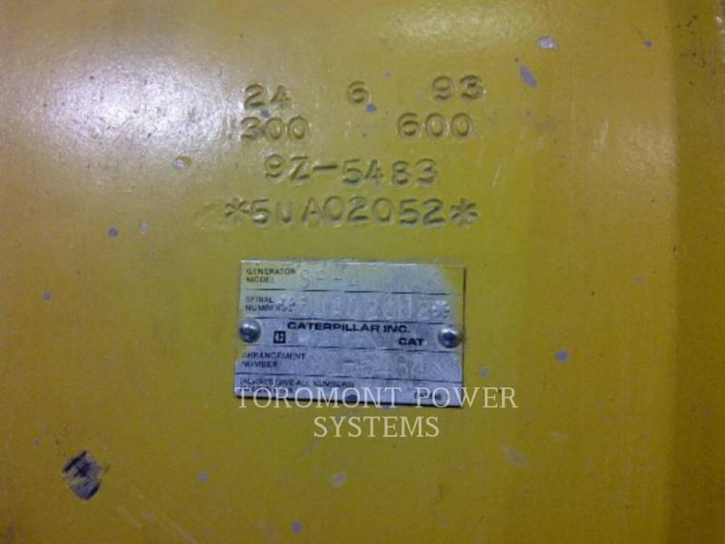 CATERPILLAR COMPONENTES DE SISTEMAS SR4B 750KW 600V equipment  photo 3