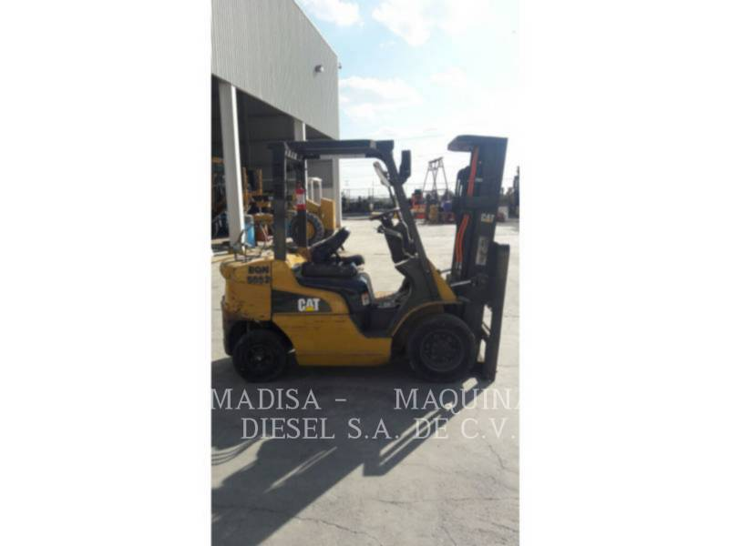 MITSUBISHI CATERPILLAR FORKLIFT FORKLIFTS 2P5000GLP equipment  photo 5